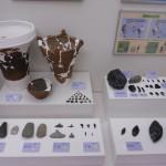 旧石器、縄文の展示資料